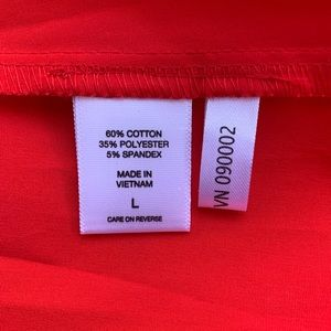 New York & Company Tops - NWT New York & Company red blouse